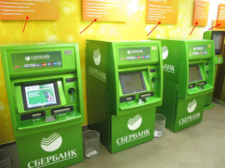 Как положить деньги на Сберкарту через терминал
