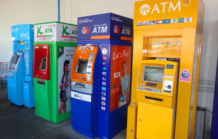 Как снять деньги с карты Сбербанка в Тайланде - используйте банкоматы с надписью АТМ