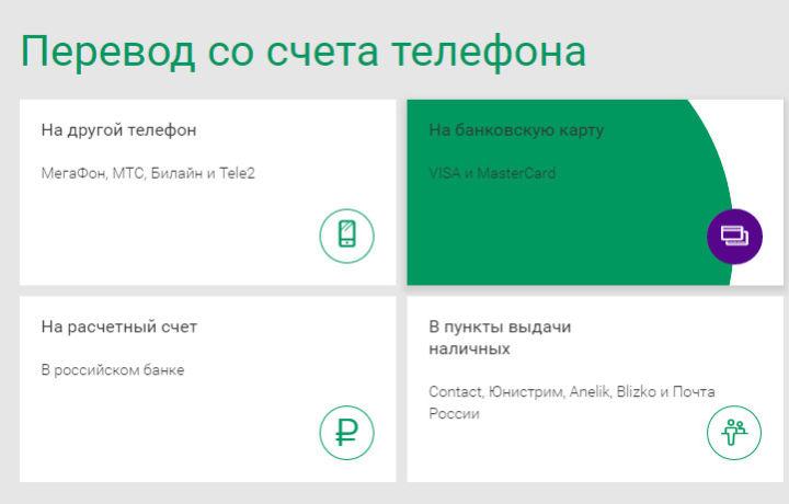 Как сделать перевод с карты сбербанка на телефон