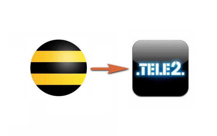 Как переводить деньги с Билайна на Теле2