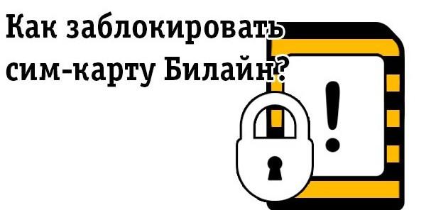 Как заблокировать сим карту Билайн: самостоятельно без оператора, через интернет, навсегда, если потерял телефон